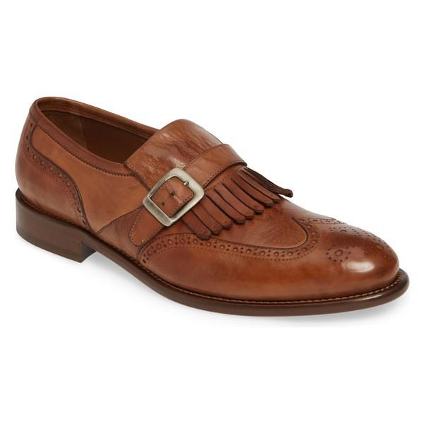 今年も話題の Cognac メンズ スリッポン・ローファー J&M Leather 1850 Loafer Kiltie シューズ Bryson (Men) ジェイ&エム-靴・シューズ