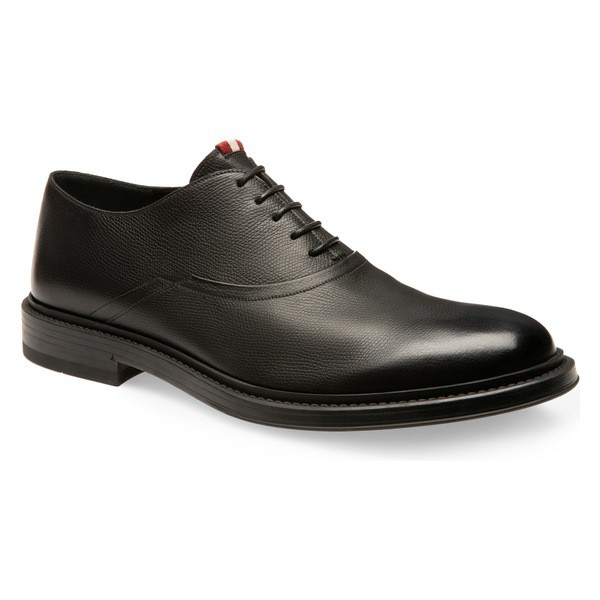 【メーカー包装済】 シューズ バリー Nice Bally ドレスシューズ (Men) Plain Black Toe Oxford メンズ-靴・シューズ