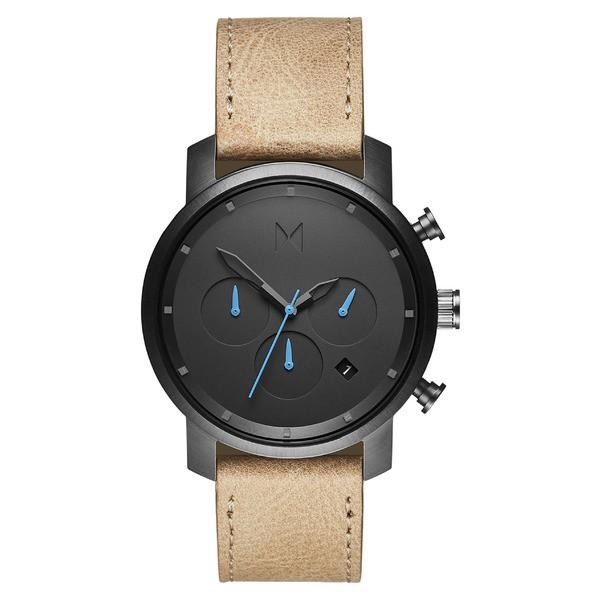 【予約中!】 エムブイエムティー レディース 腕時計 Sandstone/ アクセサリー MVMT Watch, Chronograph Leather Strap Chronograph Watch, 40mm Sandstone/ Gunmetal, 永源寺町:f4ea096c --- stobbe-d-verlag.de