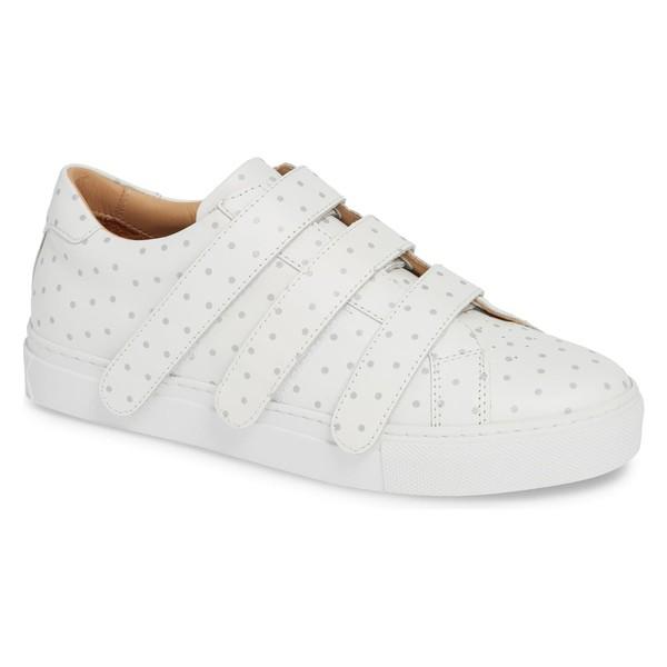 雑誌で紹介された グレーツ レディース スニーカー シューズ GREATS Low Royale シューズ Low White/ Top Sneaker (Women) White/ 3m Dots, アップル専門店「PLUSYU楽天堂」:70dd868f --- 1gc.de
