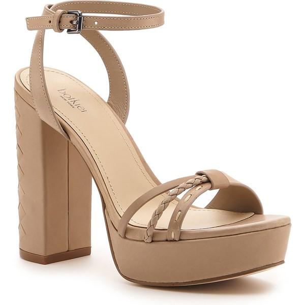 人気特価 ボトキエ レディース サンダル Taupe シューズ Botkier Petra Petra サンダル Ankle Strap Platform Sandal (Women) Taupe Leather, 刃物市場:3ac7b019 --- flicflachockey.de