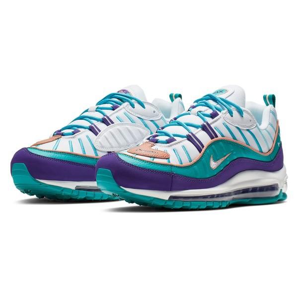 魅力的な ナイキ メンズ スニーカー シューズ Nike Air Max 98 Sneaker (Men) Court Purple/ Blush/ Teal, WORKAHOLIC store 0ed23b9e