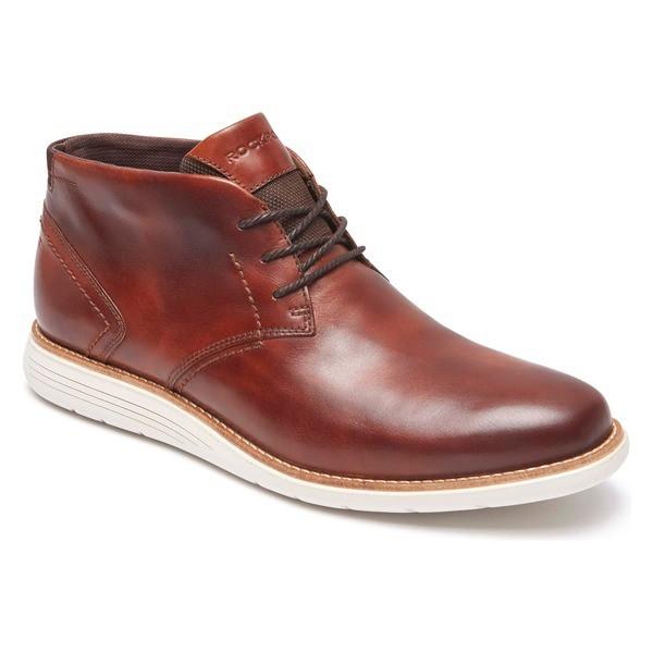 【2018最新作】 ロックポート メンズ ブーツ&レインブーツ シューズ Rockport Total Motion Sport Dress Chukka Boot (Men) Tan Leather, ミツカイドウシ 483c60ae
