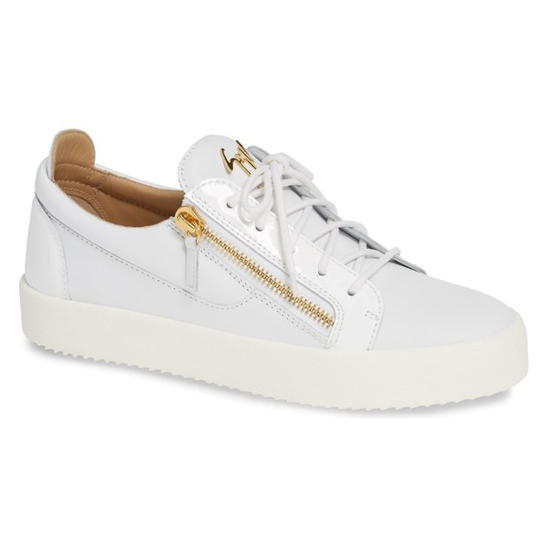 【はこぽす対応商品】 ジュゼッペザノッティ White Top スニーカー Sneaker (Men) メンズ Zanotti Giuseppe シューズ Low-靴・シューズ