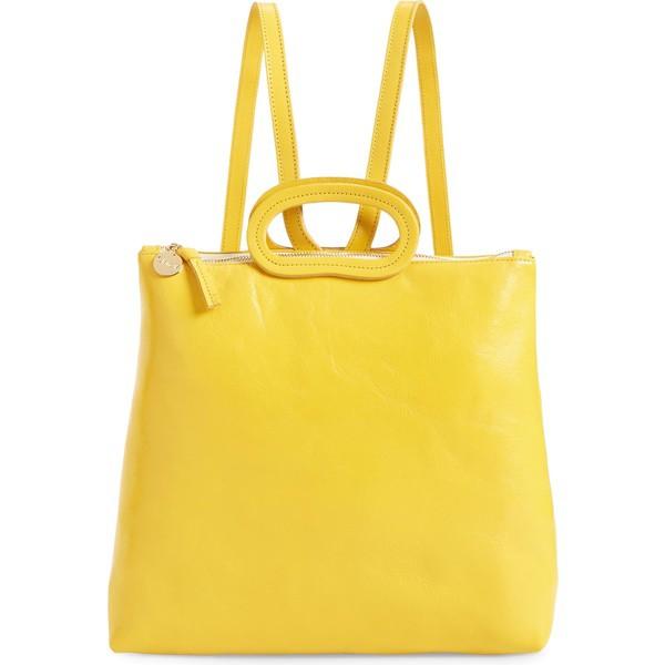 憧れ クレアブイ レディース バックパック・リュックサック バッグ Sunshine Clare V. Backpack Marcelle Leather Rustic Backpack Sunshine Rustic Sun, コスメ ディアレスト:d04ec67e --- kzdic.de
