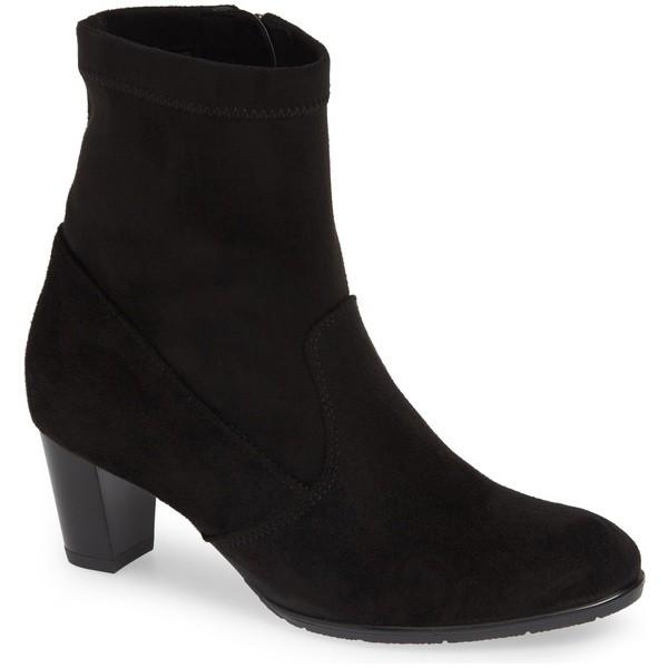 直送商品 アラ レディース ブーツ&レインブーツ シューズ ara Tate Bootie (Women) Black Fabric, イカタチョウ 15cad811