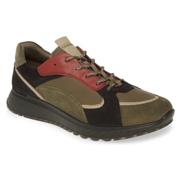 【返品交換不可】 エコー メンズ スニーカー シューズ エコー ECCO ST1 Trend メンズ Sneaker Sneaker (Men) Tarmac/ Sage Leather, 築上郡:e80a9862 --- kzdic.de