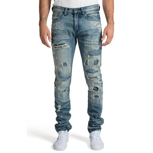 売上実績NO.1 PRPS (Frost) ボトムス Slim メンズ Sabre PRPS Jeans Frost カジュアルパンツ Le Fit-パンツ・ボトムス