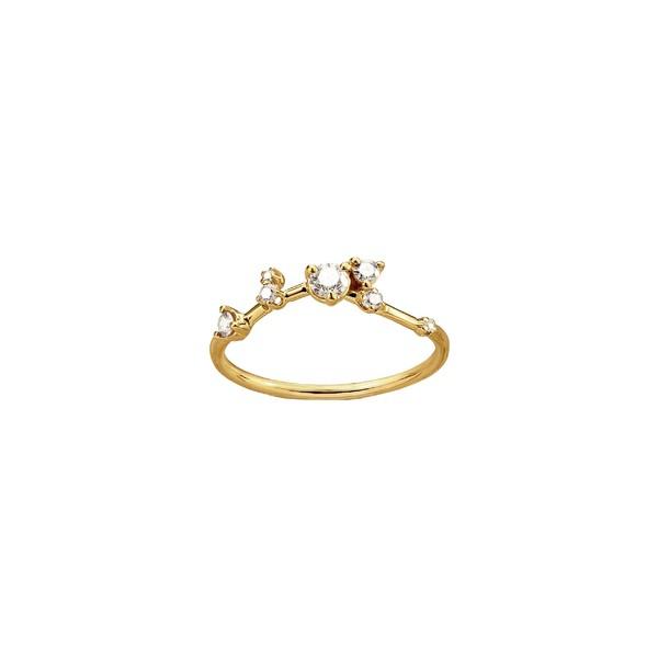 【ポイント10倍】 ダブリューウェイク レディース リング アクセサリー Wwake Organic Triangle Triangle Diamond アクセサリー Ring Yellow Yellow Gold, 家具の東金:3103889a --- chevron9.de
