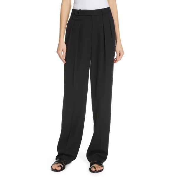 【おしゃれ】 ラルフローレン レディース カジュアルパンツ ボトムス Polo Ralph Lauren Straight Leg Pants Polo Black, 天然石 Pure Pure ピュアピュア 87808afc