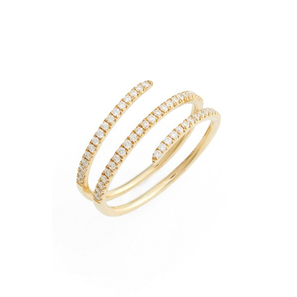 【楽ギフ_包装】 Coil Exclusive) Gold (Nordstrom ボニー Levy リング アクセサリー Yellow Ring Diamond Bony レヴィ レディース-指輪・リング