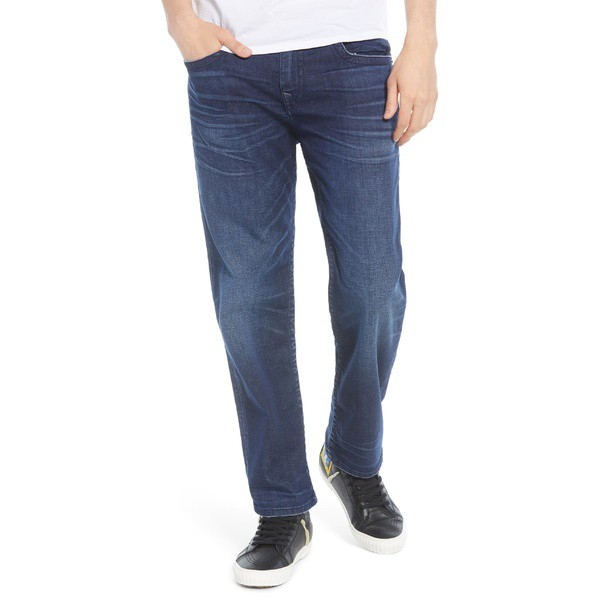 ファッションデザイナー トゥルーレリジョン メンズ カジュアルパンツ Fit ボトムス True Religion Devin Devin Relaxed Dark Fit Jeans (Dark Ocean) Dark Ocean, アシベツシ:bb7aefca --- 1gc.de