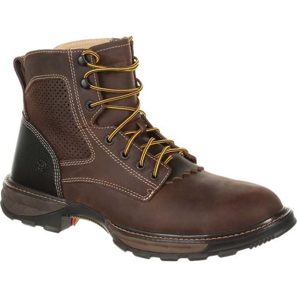 【本日特価】 ヂュランゴ メンズ ブーツ&レインブーツ シューズ DDB0172 Maverick XP Lacer Steel Toe Work Boot Oiled Brown Full Grain Leather, PHANTOM 90db9320