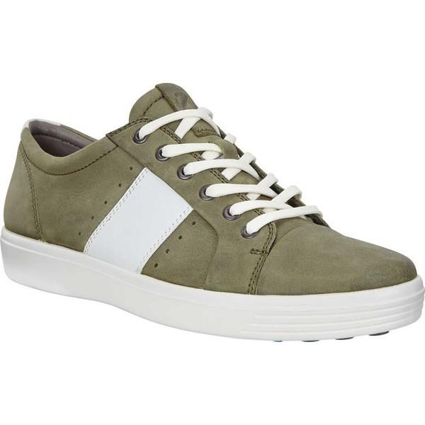 一番人気物 エコー メンズ スニーカー シューズ Soft シューズ 7 Summer Sneaker Summer Grape Soft Leaf/White Leather, リフォーム建材屋:1e1d2ec6 --- kzdic.de
