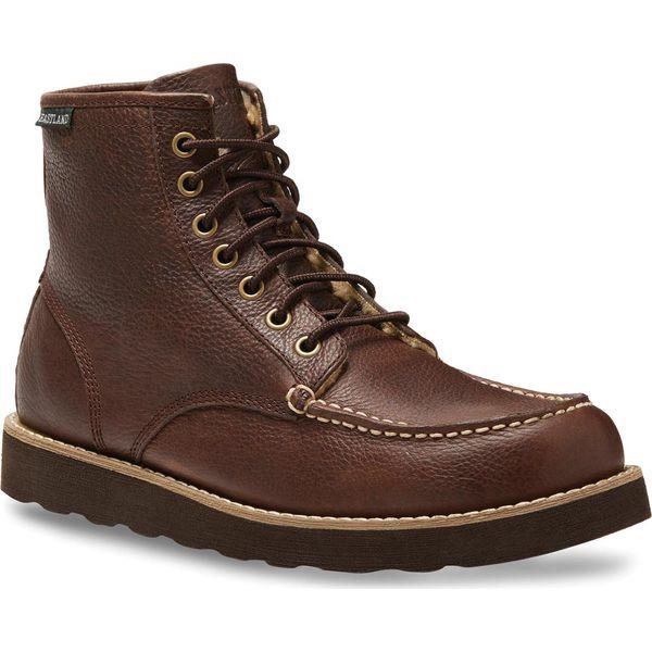 超安い品質 イーストランド メンズ ブーツ&レインブーツ シューズ イーストランド Lumber Up Boot メンズ Boot Brown Leather/Sherpa, 松阪市:819aa4f3 --- schongauer-volksfest.de