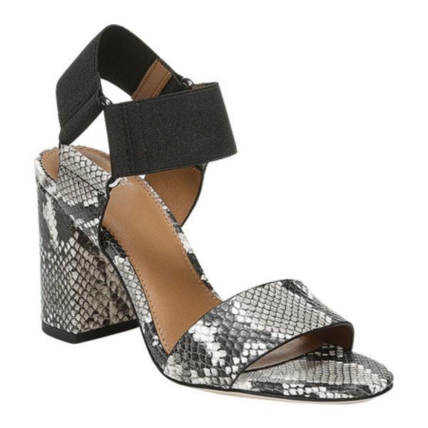 即日発送 サルトバイフランコサルト レディース Olivia サンダル シューズ Olivia Print Ankle Strap Sandal Natural Sandal/Black Shiny Snake Print Leather, マクベツチョウ:555da281 --- meinjott.de