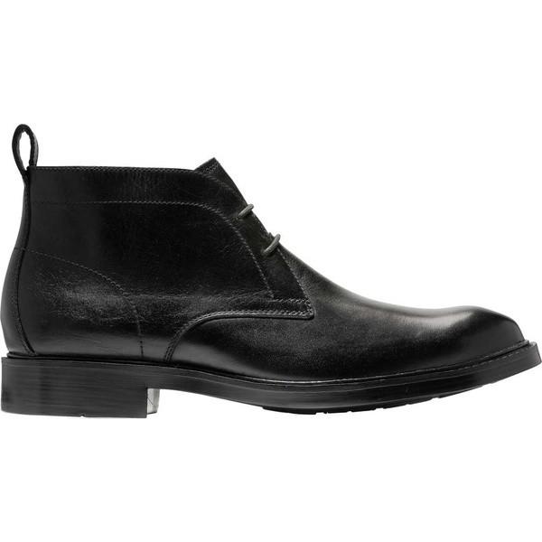 【おまけ付】 コールハーン メンズ メンズ ブーツ&レインブーツ シューズ Chukka Kennedy Kennedy Grand Chukka Waterproof Boot Black Waterproof Leather, 文具屋さん:163bba26 --- schongauer-volksfest.de