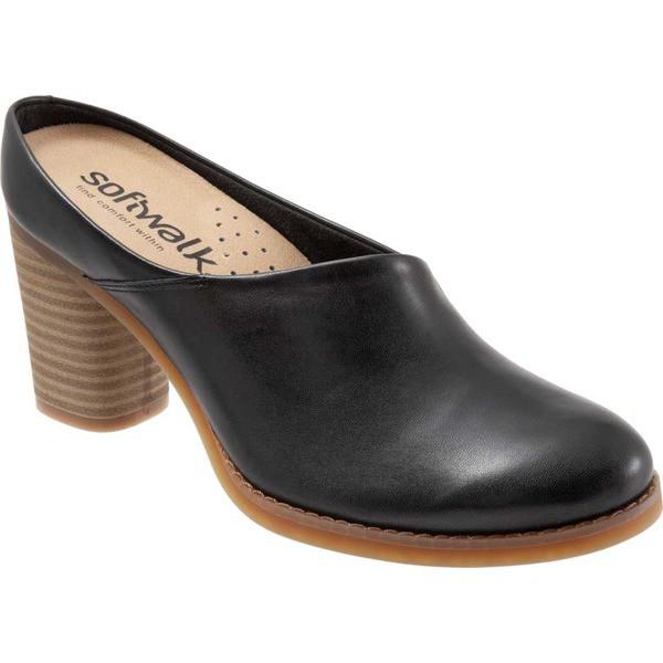 【初回限定】 ソフトウォーク Mule ソフトウォーク レディース サンダル Keya シューズ Keya Mule Black Nappa Leather, オフィス家具のオフィスパートナー:a00ad1f5 --- chevron9.de