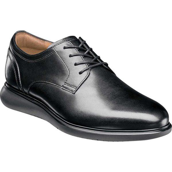 ファッションなデザイン フローシャイム メンズ ドレスシューズ Black シューズ フローシャイム Fuel Plain Toe Oxford Black Oxford Leather/Black Sole, オーシャンズ:59b9449c --- chevron9.de