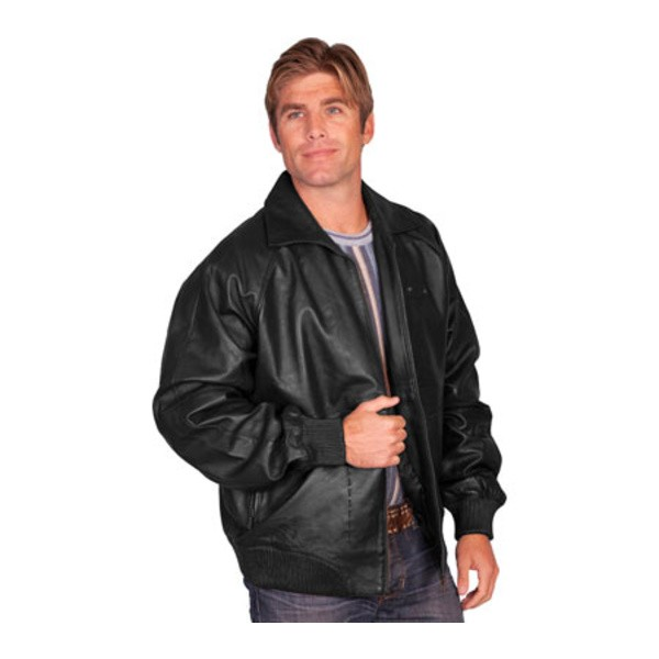 【在庫僅少】 スカーリー メンズ ジャケット Lamb&ブルゾン アウター 245 Zip Front Lamb メンズ Jacket 245 Black Lamb Leather, 本吉町:04e7e118 --- chevron9.de