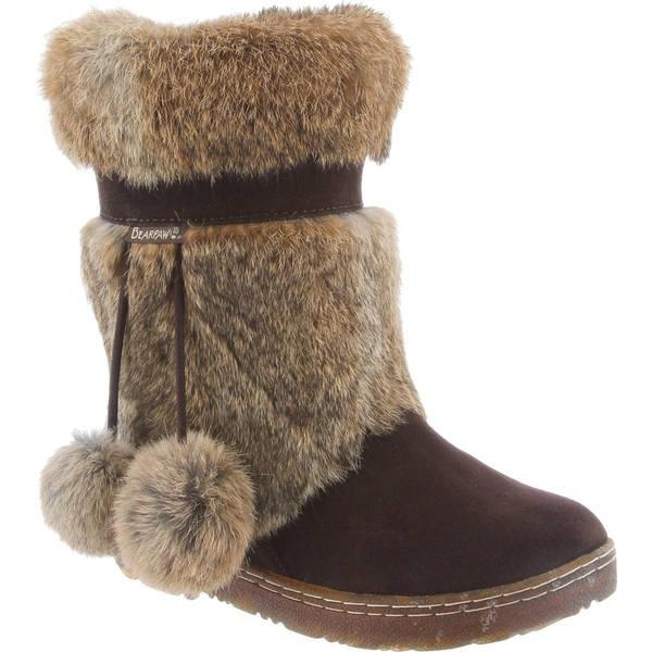 今季一番 ベアパウ レディース ブーツ&レインブーツ シューズ Tama II Solids Mid Calf Boot Chocolate II Rabbit Fur, PedraMercado 44c7aafc