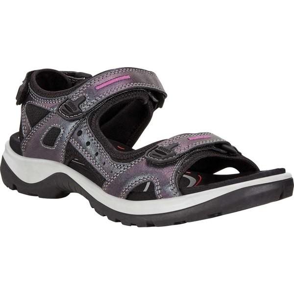 【有名人芸能人】 Leather/Textile Sandal レディース シューズ Iridecent サンダル エコー Yucatan-靴・シューズ