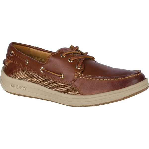 お気にいる トップサイダー メンズ スリッポン・ローファー シューズ Gold Gamefish 3-Eye Boat Shoe Brown Full Grain Leather, 飛騨市 2225520b