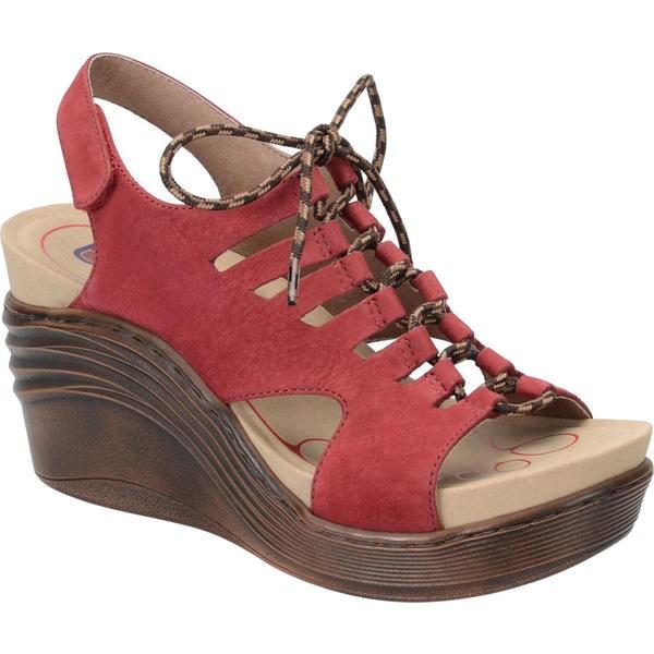 最適な材料 ビオニカ レディース Red サンダル レディース Ruby シューズ Sirus Ghillie Sandal Ruby Red Nubuck, バレーボール館:7b1aeab5 --- kzdic.de