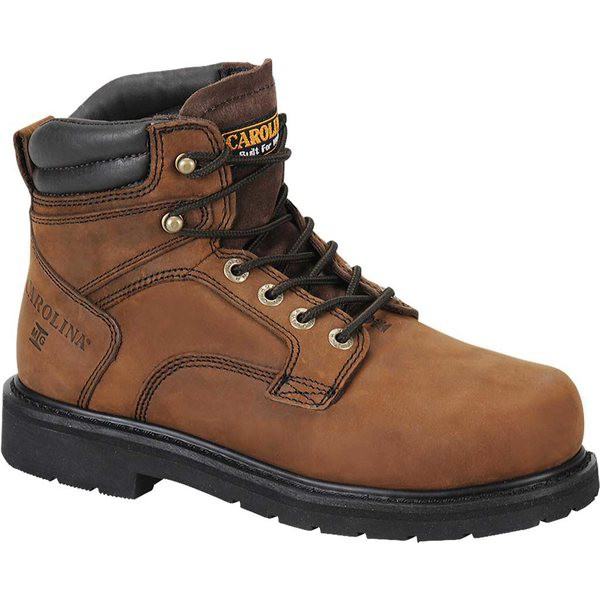 50%OFF カロリーナ メンズ ブーツ&レインブーツ シューズ Internal MetGuard Boot 6 Dark Brown Leather, 西根町 fae529ba