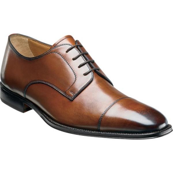 大量入荷 フローシャイム メンズ Cap ドレスシューズ シューズ Classico Cap フローシャイム Ox Ox Cognac Calfskin Leather, WsisterS (ダブルシスターズ):320dbaf7 --- buergerverein-machern-mitte.de
