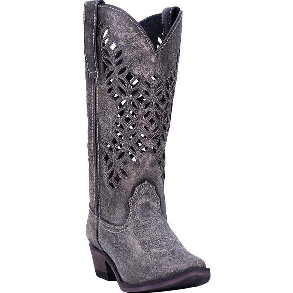 いいスタイル ラレド レディース ブーツ&レインブーツ Boot シューズ Chopped Out Cowgirl Chopped レディース Boot 52312 Grey Leather, 三条工業:79cb903c --- pokal-und-gravur-shop.de