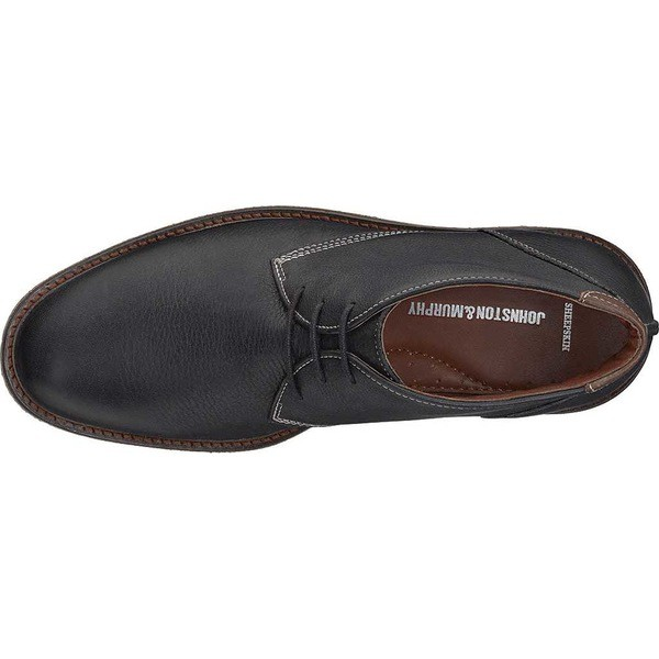 【SALE】 ジョンストンアンドマーフィー メンズ ブーツ&レインブーツ シューズ シューズ Grain Copeland Chukka Full Boot Black Tumbled Full Grain Leather, びんご屋:8d4eb028 --- schongauer-volksfest.de