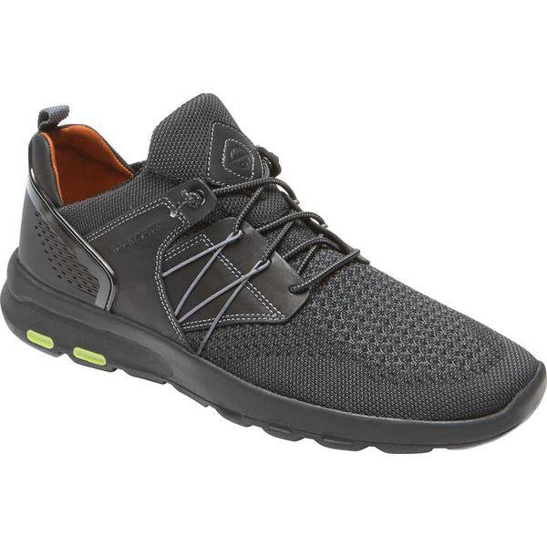 新品本物 ロックポート スニーカー メンズ スニーカー シューズ Let's シューズ Walk Mesh Bungee ロックポート Sneaker Black Mesh, 臼杵市:71c7e756 --- kzdic.de