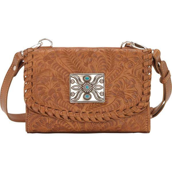 買得 アメリカンウェスト Golden レディース ショルダーバッグ バッグ Texas Wallet Texas Two Step Crossbody Bag and Wallet Golden Tan, セレクトショップ Solid:6d5e8c49 --- paderborner-film-club.de