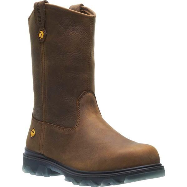 【セール 登場から人気沸騰】 ウルヴァリン メンズ ブーツ&レインブーツ Work シューズ メンズ I-90 Wellington CarbonMax Wellington Toe Work Boot Sudan Brown Full Grain Leather, イワテグン:4e69e96e --- schongauer-volksfest.de