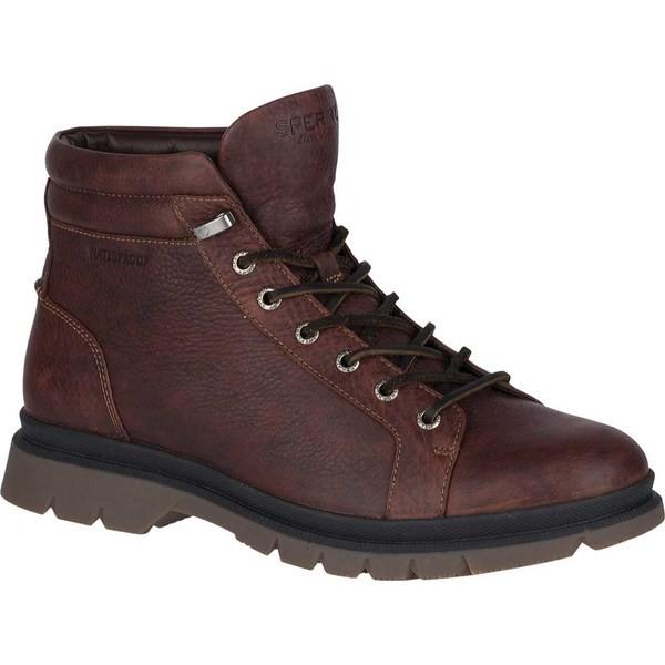 新しい トップサイダー メンズ LTT ブーツ&レインブーツ シューズ Watertown LTT Grain Hiking Boot メンズ Dark Brown Full Grain Leather, 豊富村:b4afdaab --- schongauer-volksfest.de