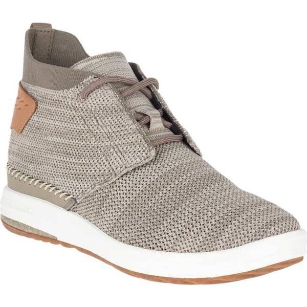 人気新品 Gridway シューズ Mid Brindle Sneaker Knit スニーカー メレル レディース-靴・シューズ