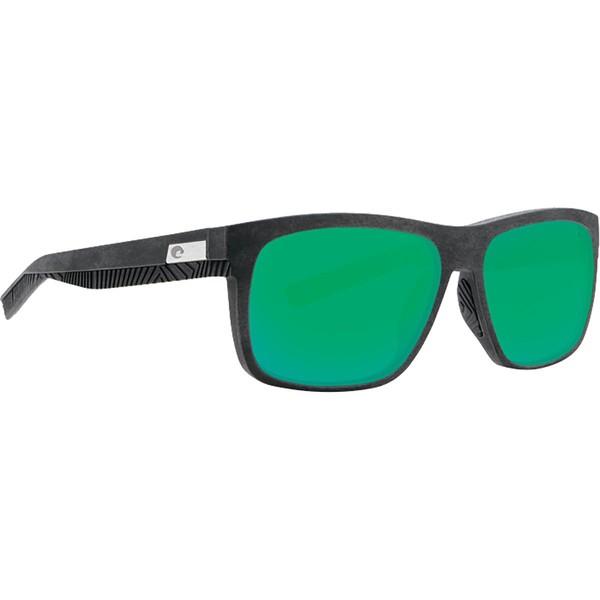 【2018最新作】 コスタ メンズ サングラス・アイウェア アクセサリー Baffin 580G Polarized Sunglasses Net Gray/Black Rubber/Green Mirror, ウエキマチ 96df12e0