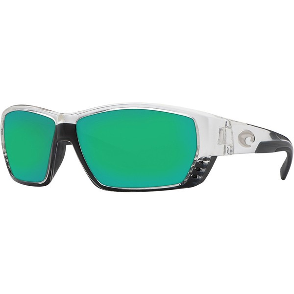 大特価放出! コスタ メンズ サングラス・アイウェア アクセサリー Tuna Alley 580G Polarized Sunglasses - Men's Crystal Green Mirror, オオウラチョウ 47c3eb93