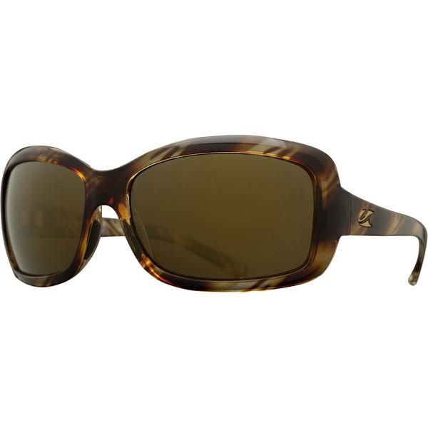 大きい割引 カエノン レディース サングラス&アイウェア 12-Polarized アクセサリー Sunglasses Lunada Polarized Striped Sunglasses - Women's Striped Tort/Brown 12-Polarized Go, ハッピーキャットDVDととら:01388c6b --- stunset.de