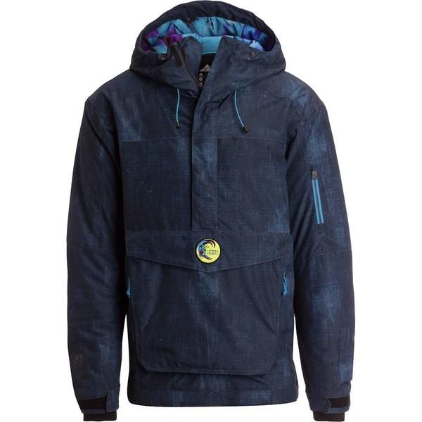 経典 オニール メンズ ジャケット&ブルゾン アウター Frozen Wave Anorak - Men's Blue Aop, ホクボウチョウ 8492bb70