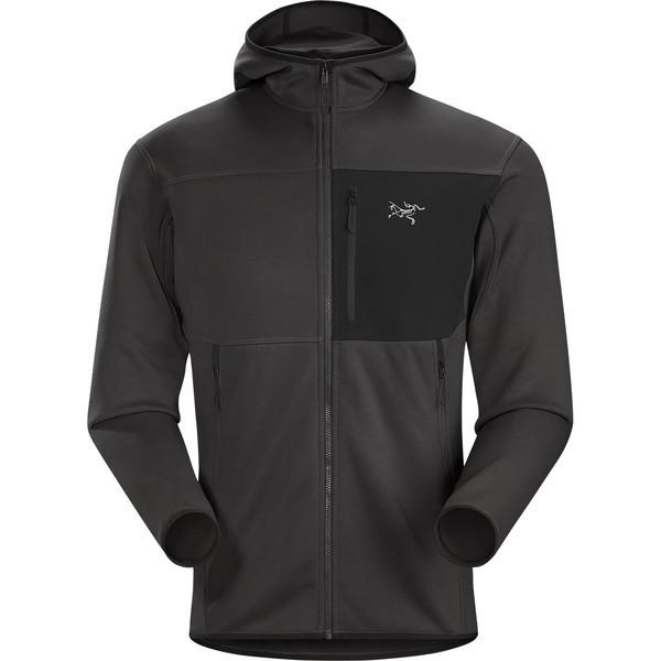 『2年保証』 アークテリクス Fleece メンズ ジャケット&ブルゾン アウター Fortrez Men's Hooded Fleece Jacket Jacket - Men's Carbon Copy, 大阪まいど:1864d50d --- 1gc.de