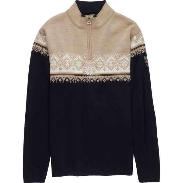 流行に  ダールオブノルウェイ メンズ ニット&セーター アウター Moritz Sweater - Men's Navy/Bronze/Off White/Beige, 格安人気 69279e30