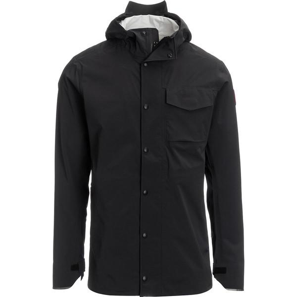 【当店限定販売】 ジャケット&ブルゾン Men's Jacket Black メンズ アウター Nanaimo - カナダグース-ジャケット・アウター