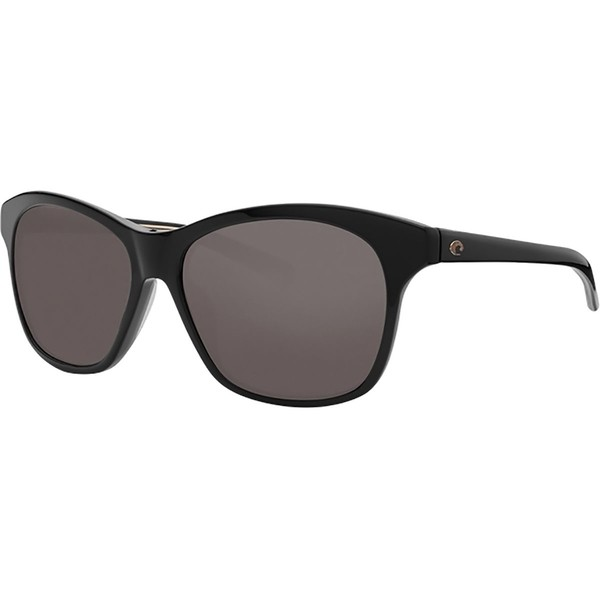 熱販売 コスタ レディース サングラス&アイウェア アクセサリー Sarasota 580G Polarized Sunglasses - Women's Copper 580g/Shiny Black Frame, PEACE.CLOTHING 83ad564e