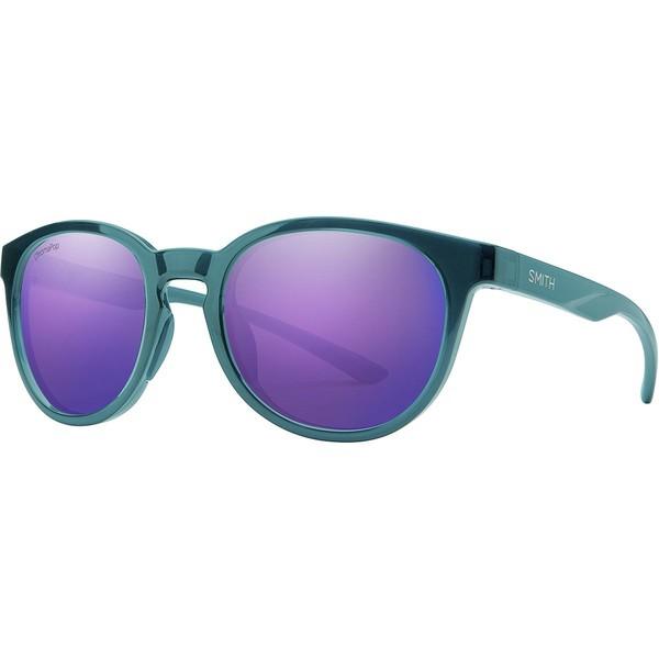 人気ブランドを スミス メンズ サングラス・アイウェア アクセサリー Eastbank Chromapop Sunglasses Crystal Mediterranean Frame/Violet Mirror, LACUS e7bc41c4