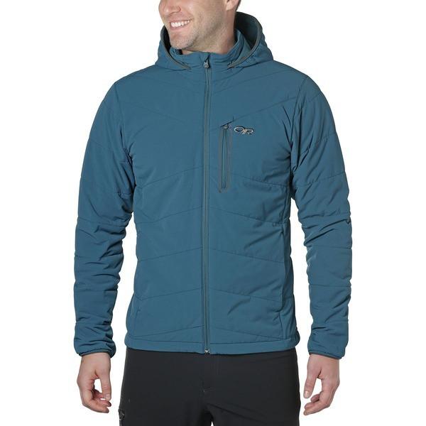 激安ブランド アウトドアリサーチ メンズ ジャケット&ブルゾン アウター Winter Ferrosi Hooded Jacket - Men's Peacock, GBS online store 89d4c51a