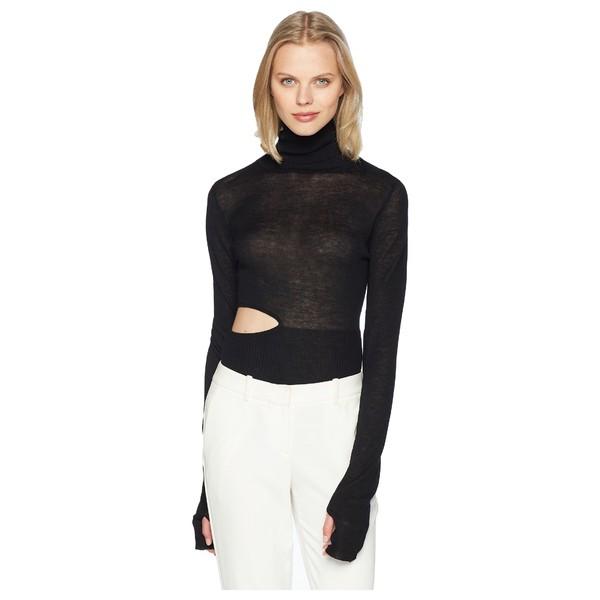 【WEB限定】 プラバルグラング レディース ニット&セーター アウター Cashmere Cashmere アウター Ama Bodysuit Sleeve Long Sleeve Turtleneck Black, プラチナSHOP:29057235 --- 1gc.de