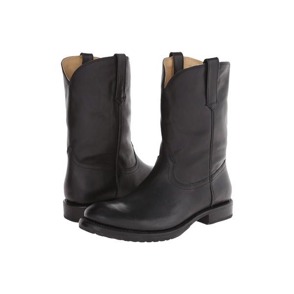 【驚きの値段】 フライ メンズ ブーツ&レインブーツ シューズ Duke Roper Black Washed Smooth Vintage, 渥美町 d54ffd8d