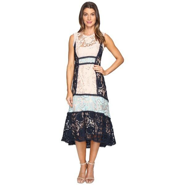 正規店仕入れの ナネットレポー Lace レディース ワンピース Dress トップス Baroque Lace Dress ナネットレポー Petal Navy, 釣鐘屋本舗:d41d8cd9 --- net-fair.de